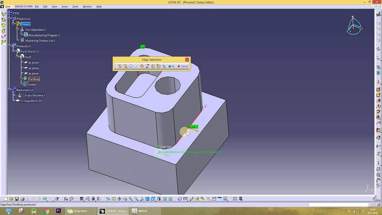 CATIA V5 Basic Tutorial pdf Free Download