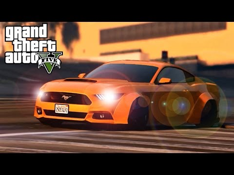 GTA 5 CAR MOD Ford Mustang GT