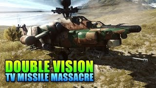 Double Vision: TV Missile Massacre, Long Range Death! (Battlefield 4 Gameplay/Commentary)