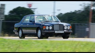 1994 RHD Bentley Turbo R Test Drive.  Only one in the USA!