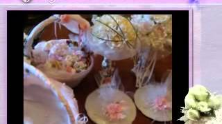 Свадебные аксесуары и оформление столов mpg