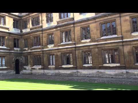 ケンブリッジ大学構内 Cambridge University