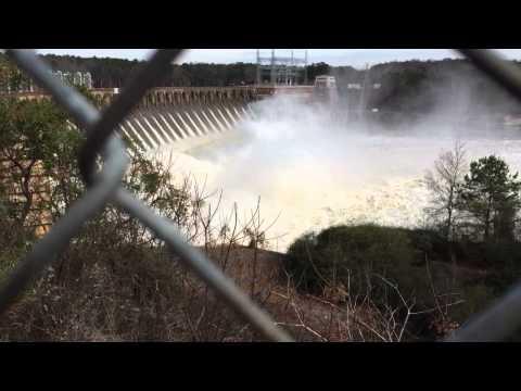 Jordan Lake dam