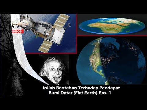 Bantahan Bumi Datar (flat earth) Eps. 1 Satelit thumbnail