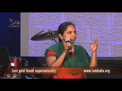 Lost gold found supernaturally