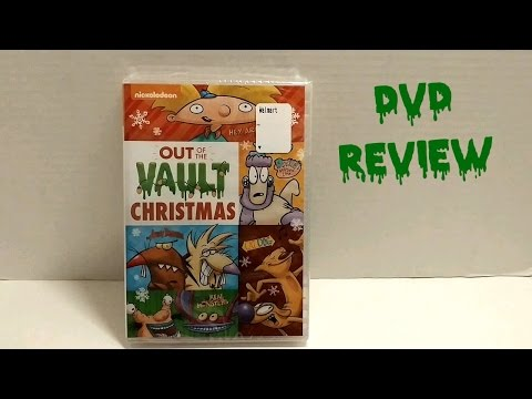 Nickelodeon Out of the Vault Christmas DVD Review! - Jay Toonz