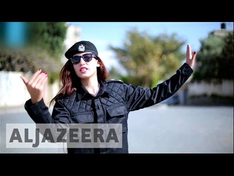 Gaza's only female comedian faces challenges