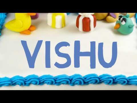 Happy Birthday Vishu Youtube