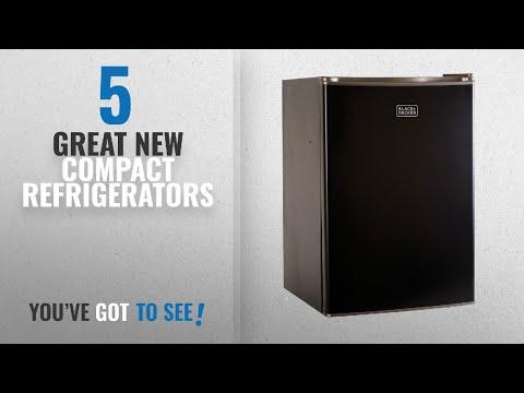 Top 10 Della Compact Refrigerators [2018]: BLACK+DECKER BCRK25B Compact Refrigerator Energy Star