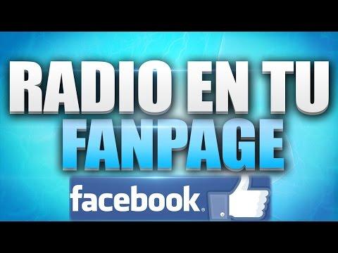 Pon tu radio en tu fanpage (Radiojar, facebook radio player)