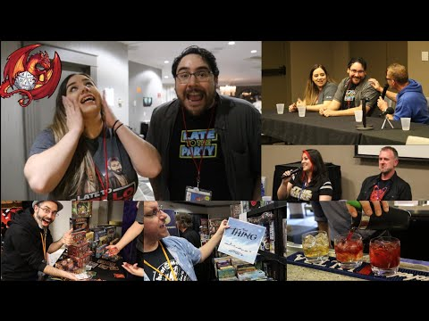 RinCon 2018 - Tucson Gaming Convention, Specialty Drinks, Creator Panel Vlog