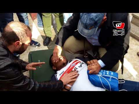 إغماء أحد أنصار «العتال» عقب إعلان فوزه