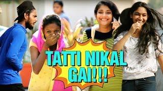 Tatti Aaari Hai Prank | Try Not To Laugh | Prank in India