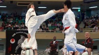 空手世界大会!ベルギーVS日本!Belgium VS Japan! Karate World Tournament!