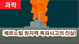 체르노빌 원자력 폭발사고 어떻게 일어났을까?