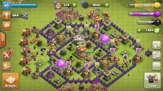 Cara menumpuk bangunan pada game CLASH of CLANS
