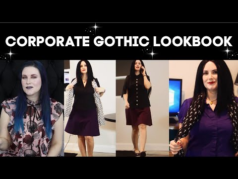 Gothic Clothing: Office Professional Gothic Lookbook