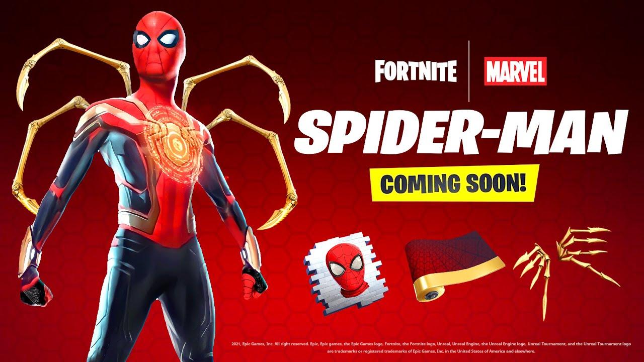 Download *NEW* Spiderman x Fortnite! (LEAKED)