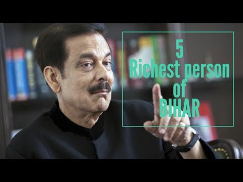 TOP 5 RICHEST PERSON OF BIHAR