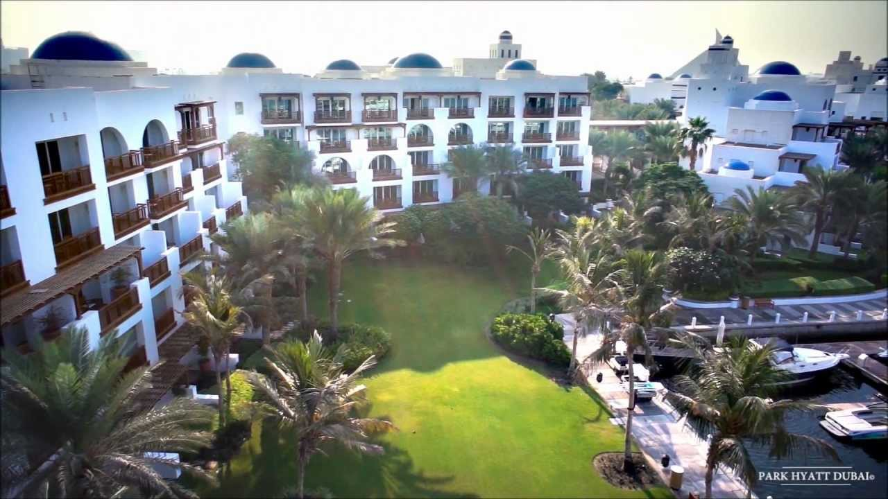 Park Hyatt Dubai Aerial View Youtube