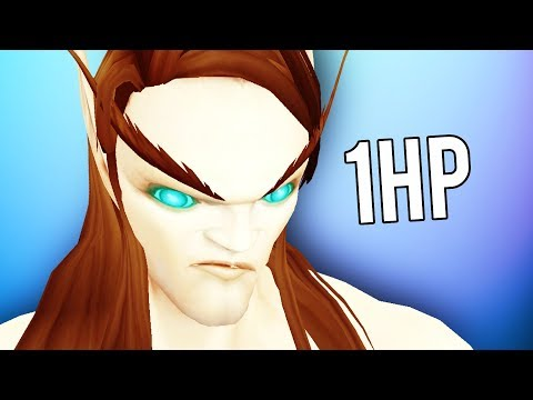 WINNING A DUEL AT 1 HP! (5v5 1v1 Duels) - Enhancement Shaman PvP WoW Legion 7.3.5