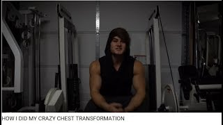 Re: Jeff Seid - HOW I DID MY CRAZY CHEST TRANSFORMATION