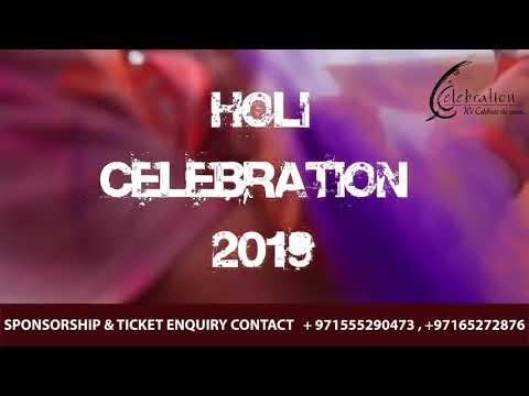 Holi Celebration 2019 Dubai
