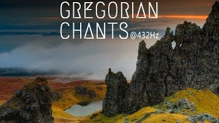 Gregorian Chants at 432Hz  3 Hours of Healing Music