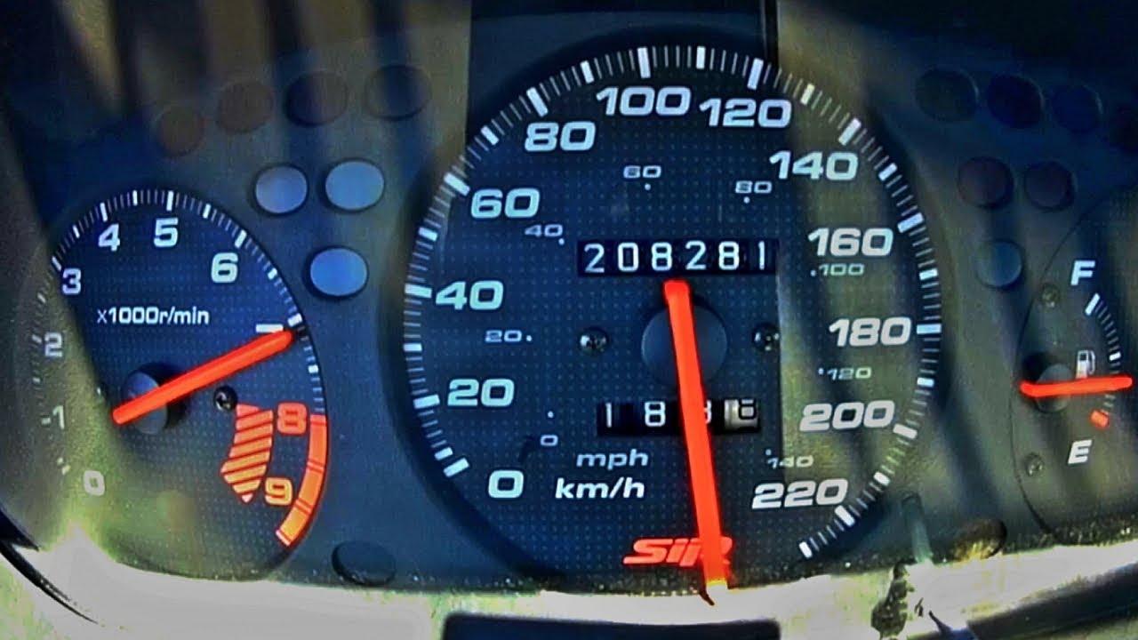 Honda Civic RS - Hız Testi ( 0-250 km/h )