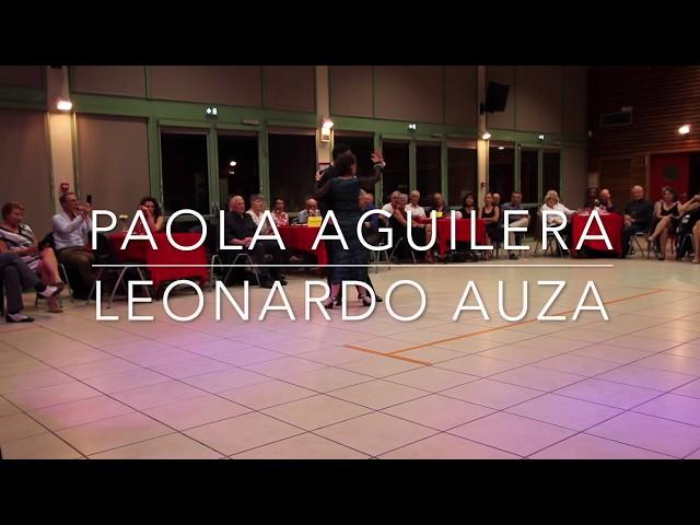 Recuerdo PUGLIESE-MACIEL baile de Tango