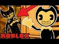 NEW BENDY AND THE INK MACHINE GAME IN ROBLOX! (Roblox Bendy RP)