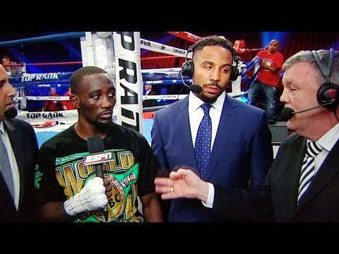 WOW! ATLAS TELLS WARD & TERENCE CRAWFORD LOMACHENKO IS THE P4P #1