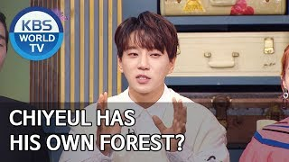 Chiyeul has his own forest? [Happy Together/2020.01.16]