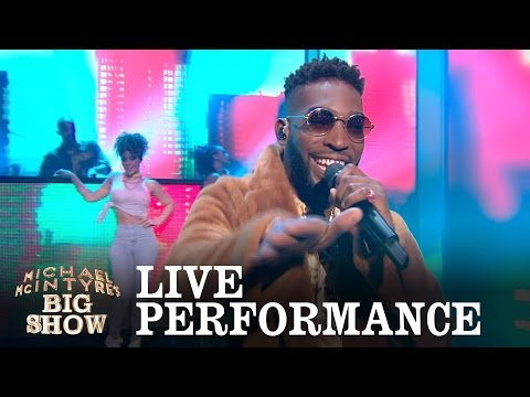 Tinie Tempah performs 'Girls Like' - Michael McIntyre's Big Show: Episode 1 - BBC One