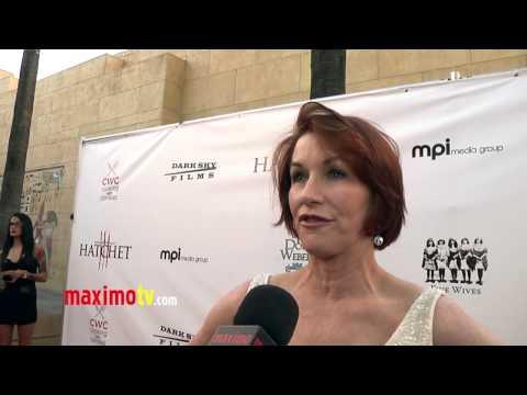 Caroline Williams  HATCHET III Premiere Red Carpet Arrivals