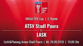 26.09.2018 | 19:00 | ATSV Stadl-Paura vs LASK | UNIQA ÖFB Cup 18/19 |2. Runde