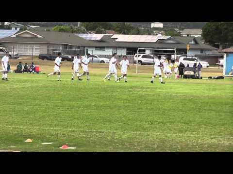 2016 MIL Boys Soccer Baldwin HS vs Maui HS 1 2nd Half