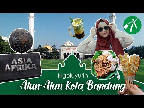 Keluyuran ke Alun-Alun Bandung & Sekitarnya, Seru Abis!