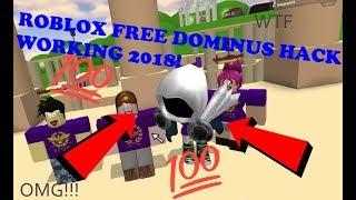 ROBLOX FREE DOMINUS COMO OBTER 100% WORKING 2018 * * * NÃO CLICKBAIT * * *