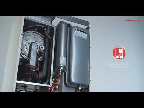 Газовий конденсаційний котел з бойлером Immergas Victrix Zeus | Конденсационный котел c бойлером