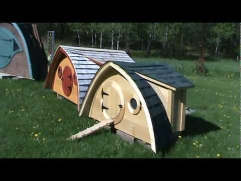 Tour A Hobbit Hole Chicken Coop Youtube