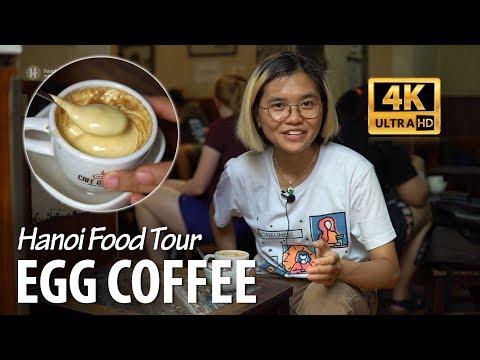 Hanoi Food Tour | ORIGINAL EGG COFFEE - Special coffee of the world!!