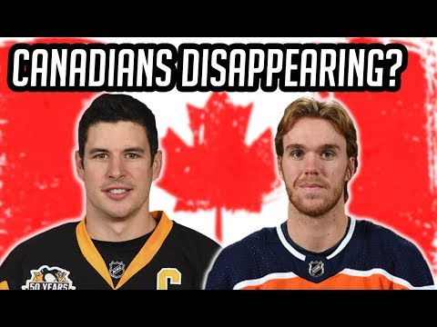 NHL/Why Are Canadians Disappearing From The Game?