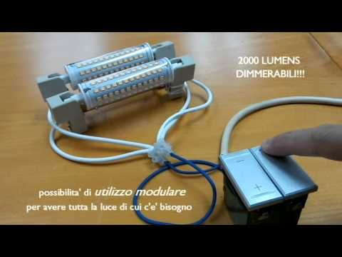 ecobelle lampadine led r7s presentazione della nuova