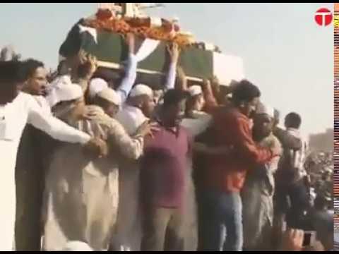 naat ilahi teri chokhat per  Funeral of junaid jamshed