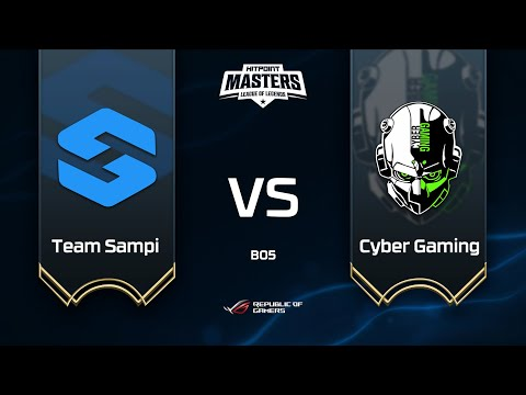 Team Sampi Vs Cyber Gaming @ Semifinále Hitpoint Masters #13 GAME 1