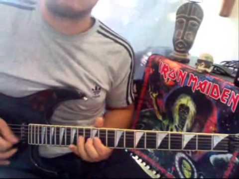 Canon Rock - Yngwie Malmsteen Cover guitar