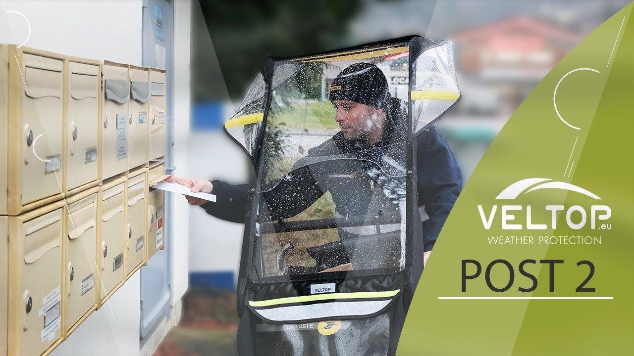 Veltop Post 2 Protection Pluie Pour V 233 Lo La Poste Youtube