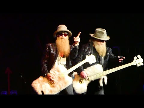 ZZ Top  legs   Paris 2017