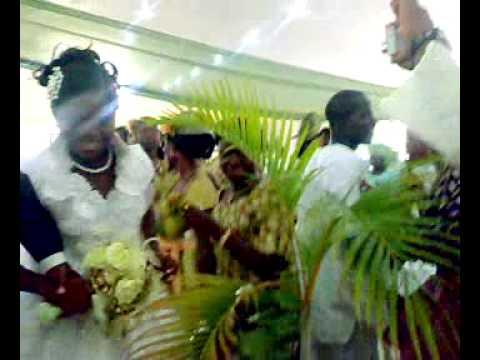 Bunmi's wedding